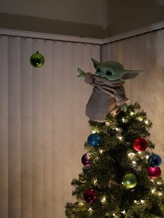 Christmas Time Is Here, Merry Little Christmas, All Things Christmas, Holiday Fun, Christmas Holidays, Xmas, Star Wars Christmas Tree, Christmas Ornaments, Star Wars Christmas Decorations