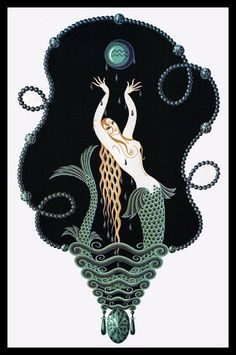 Erte Mermaid!