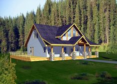 House Plan 87205