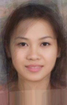 World of Facial Averages: Average Vietnamese Female
