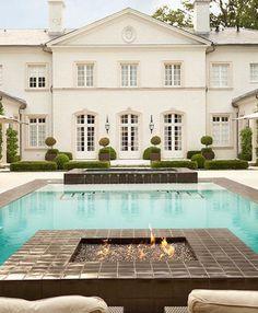 Howard design studio portfolio landscape patio pool porch garden grounds