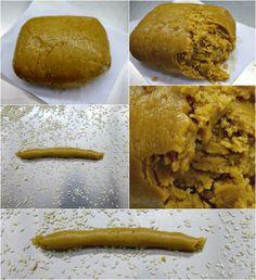 τραγανά κουλουράκια με ελαιόλαδο και πορτοκάλι Peanut Butter, Bread, Cooking, Recipes, Yum Yum, Food, Bakken, Kitchen, Brot