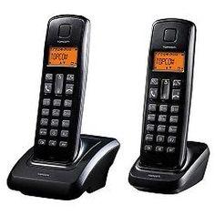 Pack de 2 Teléfonos Inalámbricos TopCom Dect Butler E700 5411519016416