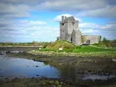 Dunguaire Castle | Ireland. So crazy! I took a photo of this castle on the road from Galway to Doolin. Didn't stop there or even find out the name of it. That photo has remained the background of my phone and then I randomly came across this pin!