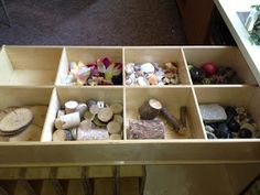 Natural materials for our nature and building areas.
