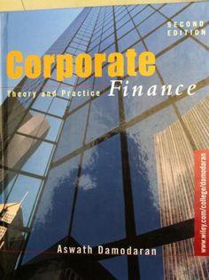 Corporate Finance (Aswath Damodaran)
