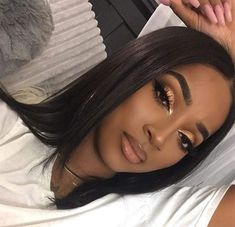 Attractive Makeup Ideas For Black Women – Finding makeup for black skin used to be a problem. There is a very wide range of makeup available in every department store you go into but it used t… - Schönheit von Make-up Makeup For Black Skin, Gold Makeup Looks, Prom Makeup Looks, Natural Makeup Looks, Makeup For Brown Eyes, Cute Makeup, Gorgeous Makeup, Pretty Makeup, Hair Makeup