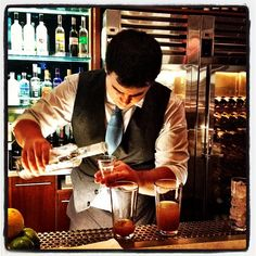 Fastidious preparation at Cocktail World Cup heats in Las Vegas