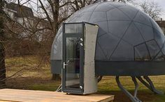 Smartdome Dome Home Sales - InsideHook Dome House, Earth Homes, Yurt Home, Geodesic Dome Homes, Unusual Homes, Tiny House Living, Machine Design, Chickens Backyard, Sustainable Architecture