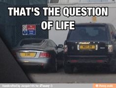 """Oh I wanna do this with our cars so when we are taking one car we can say """"alright, to be or not to be?"""" Lol"""