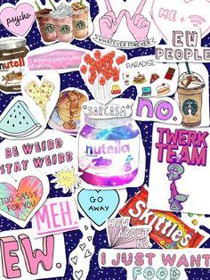 Tumblr transparents collage