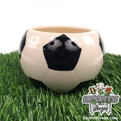 Ceramic Soccer Vase