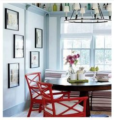 Inspiration Gallery: Red Dining Chairs