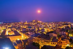 Corfu under the moonlight by Bill Metallinos on 500px