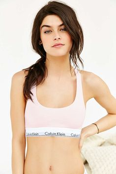 UO Exclusive Calvin Klein Valentines Rose Crop Top - Urban Outfitters
