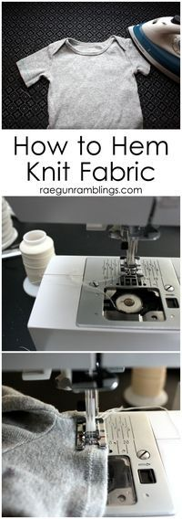 How to Hem Knit Fabric | How to Sew Knits with a Serger | Sewing with Jersey | Best Tips for Sewing Knits