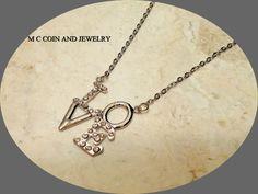 "Silver Fashion & CZ Love Pendant Silver Plated Chain Necklace 16 "" - 18"" #Pendant"