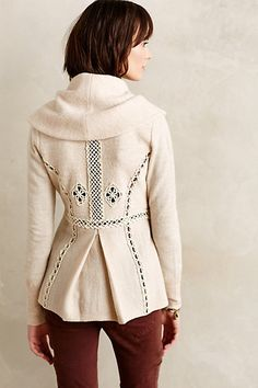 Soutache Trim Jacket » Beautiful coat.