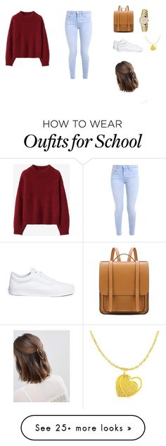 """My outfit for the day❤️"" by camilitaescalante on Polyvore featuring Vans, Gucci and Orelia"