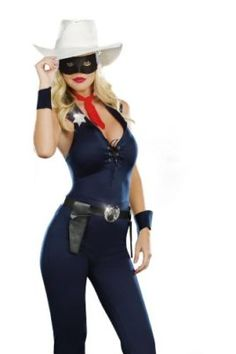 Dreamgirl Womens Lone Cowgirl Costume Tag someone you think would look good in this! #Cowboy #Halloween #Costume
