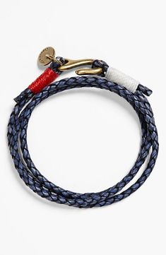 Leather Bracelet For Him.