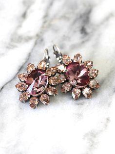Blush Pink Earrings,