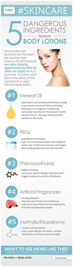 "Let's ""meet"" 5 of the most widely used ingredients in regular body care products that do more harm than good!"