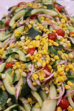 Southwest Cucumber Salad