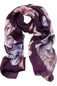 Ferragamo silk chiffon scarf Chiffon Shawl, Silk Chiffon, Designer Clothes  Sale, Discount dcfc6321c53