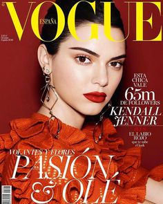 Celebrating 30 years of @VogueSpain. Happy 30th Anniversary! ❤️❤️.  @kendalljenner  @miguelreveriego  @belenantolin  @luxebytracylee …