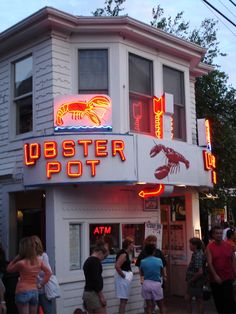 A must while visiting.. seafood in Provincetown.. yummm