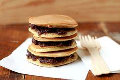 Mini Dorayaki – Japanese Pancakes with Adzuki Beans Paste : Zizi's Adventures – Real Food, Real Stories
