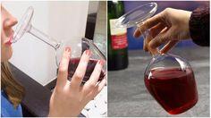 Странна чаша за вино, която ще шашне всеки