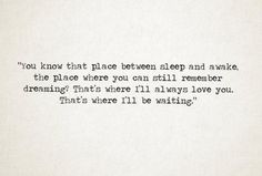 that's where I will be waiting | quotes lyrics etc