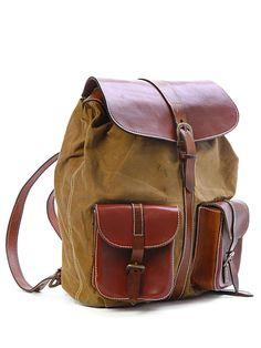 Lidia Canvas Backpack-SR