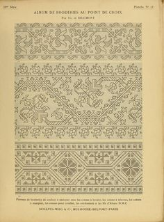 Cross Stitch Borders, Crochet Borders, Cross Stitch Charts, Cross Stitching, Cross Stitch Patterns, Crochet Edgings, Crochet Doilies, Blackwork Embroidery, Cross Stitch Embroidery