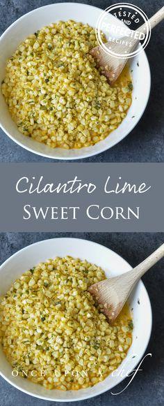 Vivian Howard's Cilantro Lime Sweet Corn