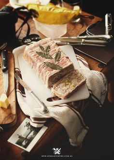 Rabbit Terrine Recipe (A Table For Two) Charcuterie Recipes, Charcuterie And Cheese Board, Foie Gras, Potted Meat Recipe, Chopped Liver, Mousse, Rabbit Food, Fresh Fruits And Vegetables, Slow Food