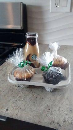 Starbucks theme mishloach manot
