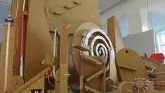 How Do & Design Modelling: The Berlin Magic Marble Run Workshop Paper Roller Coaster, Rube Goldberg, Minecraft Stuff, Cardboard Crafts, Design Model, Industrial Design, Berlin, Marble, Workshop