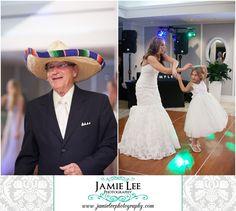 Naples Beach Hotel | Naples Wedding Photographer | Jamie Lee Photography | Beach Themed Wedding Reception | Bride Dancing with Flower Girl