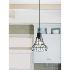 Threshold™ Industrial Plug-In Pendant (Includes CFL Bulb)