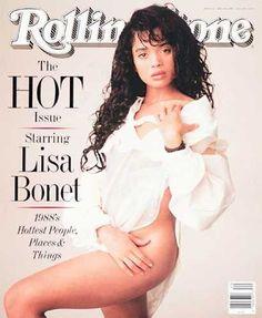 Lisa Bonet - Rolling Stone Magazine [United States] (19 May 1988)