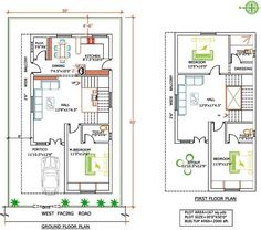 Duplex House Plan For 600 Sq Ft In India - House Plans, Home Plan Designs, Floor Plans and Blueprints 20x30 House Plans, One Bedroom House Plans, 2bhk House Plan, Guest House Plans, A Frame House Plans, Model House Plan, House Layout Plans, Duplex House Plans, Garage House Plans