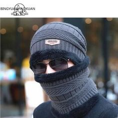 ==> [Free Shipping] Buy Best Scarf Winter Wool for men Caps Beanie Knitted Women's hats Online with LOWEST Price | 32774176565