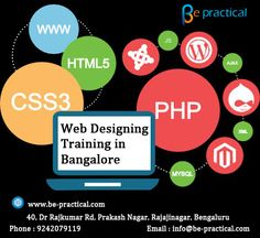 Be-practical is one of the best Web Designing institute in Bangalore with 100% placement assistance, we train under web designing certified experts along with real time projects For More Details Visit http://bit.ly/29hzkZf or Call 9242079119