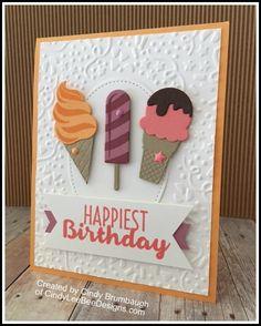 SU Cool Treats Bundle created by Cindy Brumbaugh of CindyLeeBeeDesigns.com