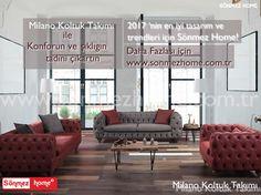 Evinizi yenilemeye salonunuzdan başlamaya ne dersiniz? #Modern #Furniture #Mobilya #Milano #Koltuk #Takımı #Sönmez #Home
