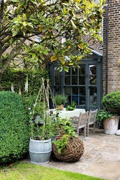 Butter Wakefield's London Garden | Outdoor Spaces (houseandgarden.co.uk)