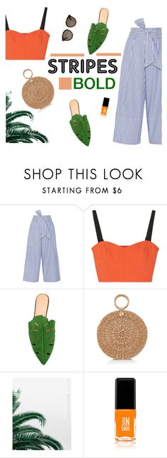 """""""Jamaica"""" by euphemiasun97 ❤ liked on Polyvore featuring By Malene Birger, Milly, Charlotte Olympia, Burberry, JINsoon and STELLA McCARTNEY"""